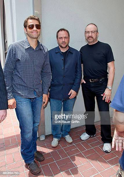 Misha Collins Jim Beaver and Mark Sheppard are seen on July 15 2012 in San Diego California