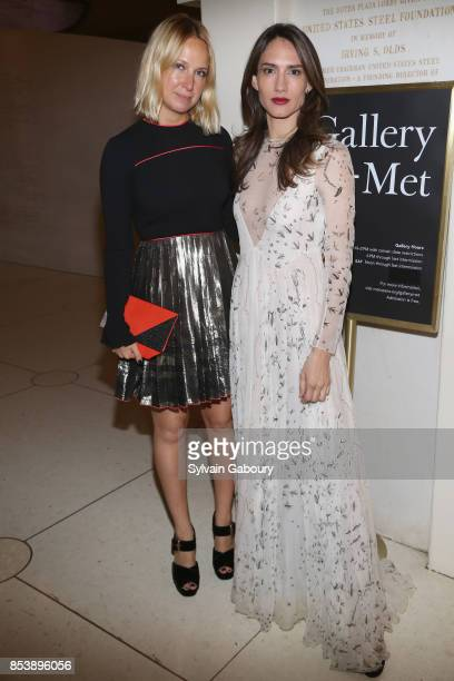 Misha Nonoo and Zani Gugelmann attends Metropolitan Opera Opening Night Gala at Lincoln Center on September 25 2017 in New York City