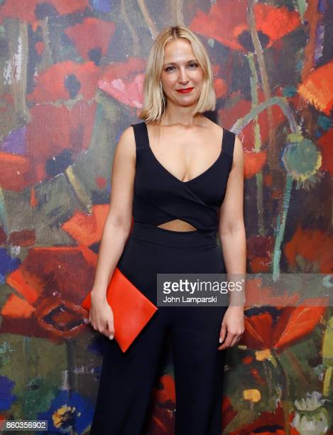 Misha Nonoo attends the 2017 Take Home A Nude Art Party and auction at Sotheby's on October 11 2017 in New York City