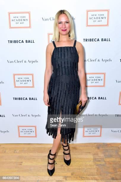 Misha Nonoo attends the New York Academy of Art Tribeca Ball Honoring Will Cotton at New York Academy of Art on April 3 2017 in New York City