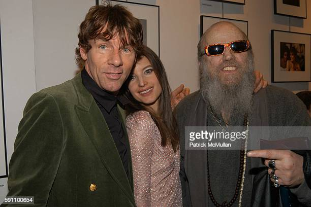 Misha Sedgwick and Billy Name attend Edie Sedgwick Unseen Photographs of a Warhol Superstar Opening Reception Hosted by Misha Sedgwick at 111 4th...