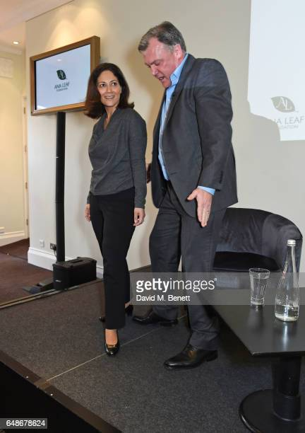 Mishal Husain and Ed Balls dance at the 'Turn The Tables' lunch hosted by Tania Bryer and James Landale in aid of Cancer Research UK at BAFTA...