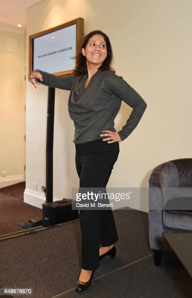 Mishal Husain attends the 'Turn The Tables' lunch hosted by Tania Bryer and James Landale in aid of Cancer Research UK at BAFTA Piccadilly on March 6...