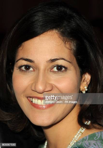 Mishal Husain during the Women of the Future awards at the Marriott Hotel London