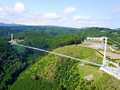 It is a suspension bridge for walkers of the best length in Japan