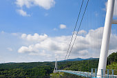 It is the best length in Japan on the suspension bridge for walkers
