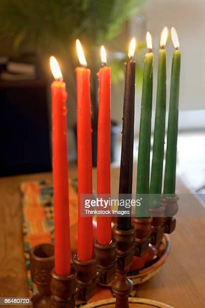 Mishumaa Saba candles for Kwanzaa