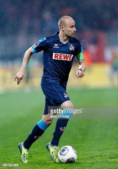 Miso Brecko of Koeln runs with the ball during the Second Bundesliga match between 1FC Union Berlin and 1 FC Koeln at Stadion An der Alten Foersterei...