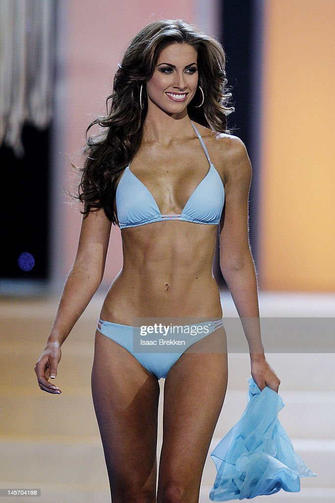 Miss Alabama USA Katherine Webb competes in the swimwear competition during the 2012 Miss USA pageant at the Planet Hollywood Resort & Casino on June 3, 2012 in Las Vegas, Nevada.