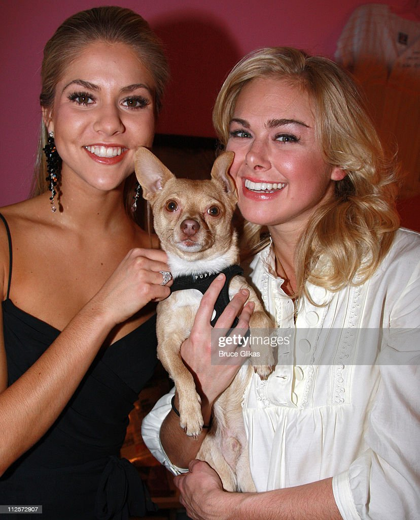 """2008 Miss America & Others Visit """"Legally Blonde"""" on Broadway"""