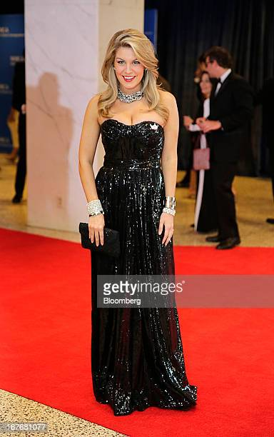 Miss America 2013 Mallory Hagan arrives for the White House Correspondents' Association dinner in Washington DC US on Saturday April 27 2013 The 99th...