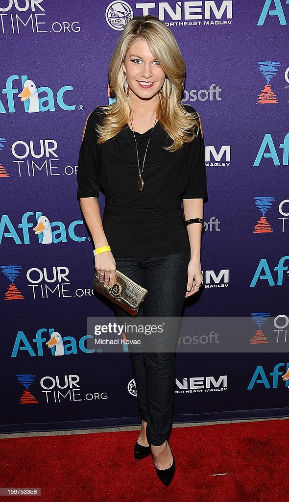 Miss America 2013 Mallory Hagan attends the Inaugural Youth Ball hosted by OurTime.org at Donald W. Reynolds Center on January 19, 2013 in Washington, United States.