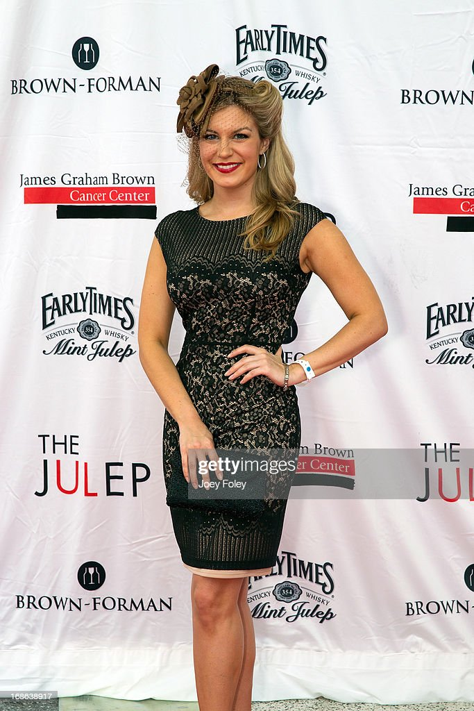 Miss America 2013, <a gi-track='captionPersonalityLinkClicked' href=/galleries/search?phrase=Mallory+Hagan&family=editorial&specificpeople=9408105 ng-click='$event.stopPropagation()'>Mallory Hagan</a> attends the Julep Ball 2013 during the 139th Kentucky Derby at KFC YUM! Center on May 3, 2013 in Louisville, Kentucky.