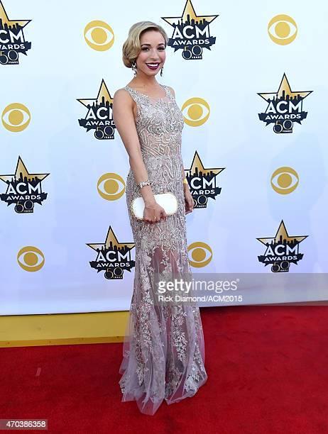 Miss America 2015 Kira Kazantsev attends the 50th Academy of Country Music Awards at ATT Stadium on April 19 2015 in Arlington Texas