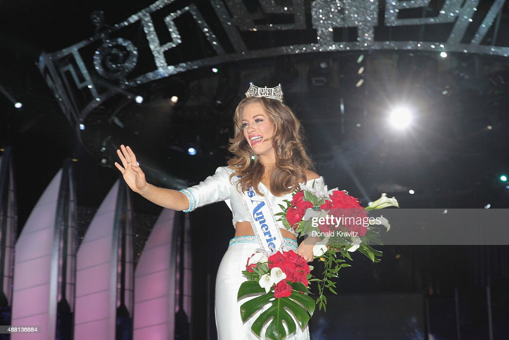 Miss America 2016 Betty Cantrell attends the 2016 Miss America Competition at Boardwalk Hall Arena on September 13 2015 in Atlantic City New Jersey