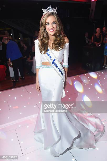Miss America 2016 Betty Cantrell attends The 2016 Official Miss America AfterParty at on September 13 2015 in Atlantic City New Jersey