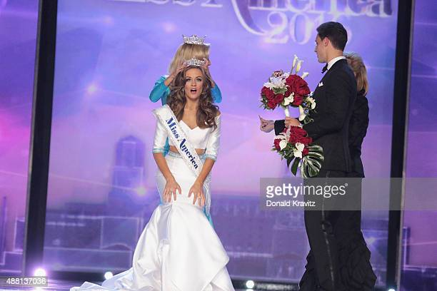 Miss America 2016 Betty Cantrell wins the 2016 Miss America Competition at Boardwalk Hall Arena on September 13 2015 in Atlantic City New Jersey