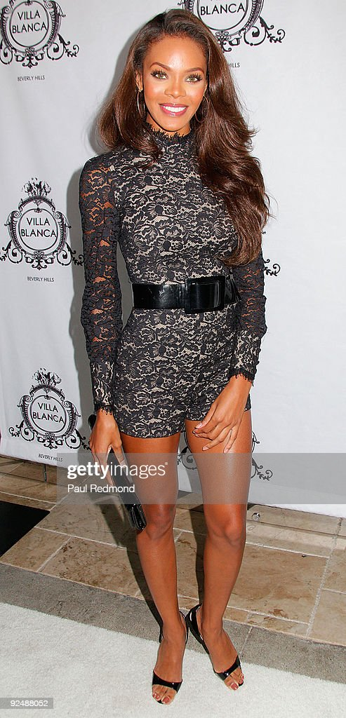 Miss America Crystle Stewart attends Genlux Magazine And Ford Models Cocktail Party on October 28 2009 in Beverly Hills California
