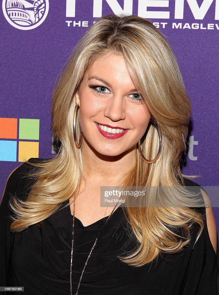 Miss America Mallory Hagan attends the OurTime.org Hosts Inaugural Youth Ball on January 19, 2013 in Washington, DC.