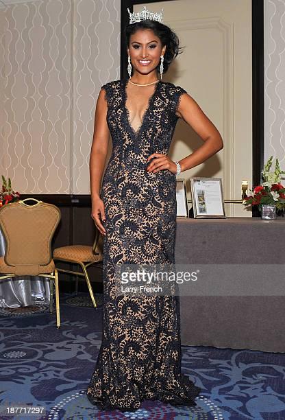 Miss America Nina Davuluri attends the Thurgood Marshall College Fund 25th Awards Gala on November 11 2013 in Washington City