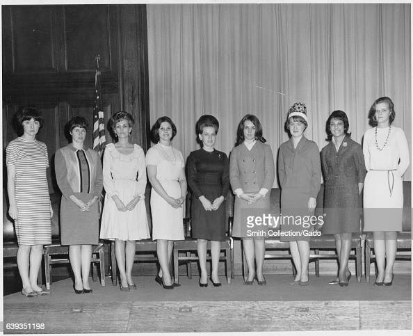 Miss Archives Contest in the auditorium of the National Archives College Park Maryland 1966