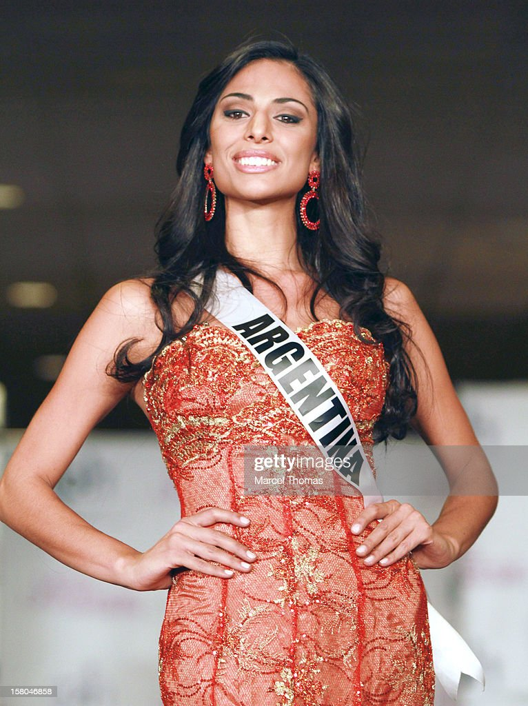 Miss Argentina Camila Solorzano walks the runway as part of the 2012 Miss Universe Pageant's Official Welcome Event at Planet Hollywood Resort and Casino on December 6, 2012 in Las Vegas, Nevada.