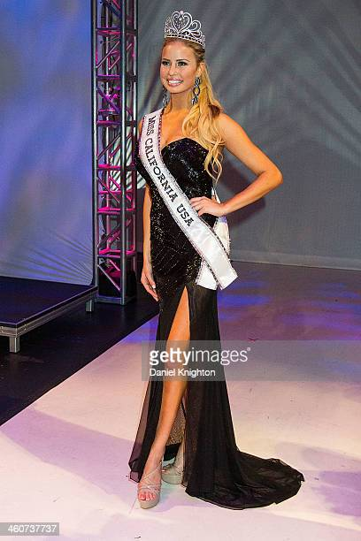 Miss Beverly Hills Cassandra Kunze is crowned Miss California USA 2014 at Terrace Theater on January 4 2014 in Long Beach California