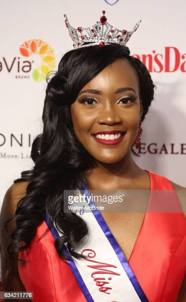 Miss Black Alabama LaQuitta Shai Wilkins attends the 14th Annual Red Dress Awards presented by Woman's Day Magazine at Jazz at Lincoln Center Appel...