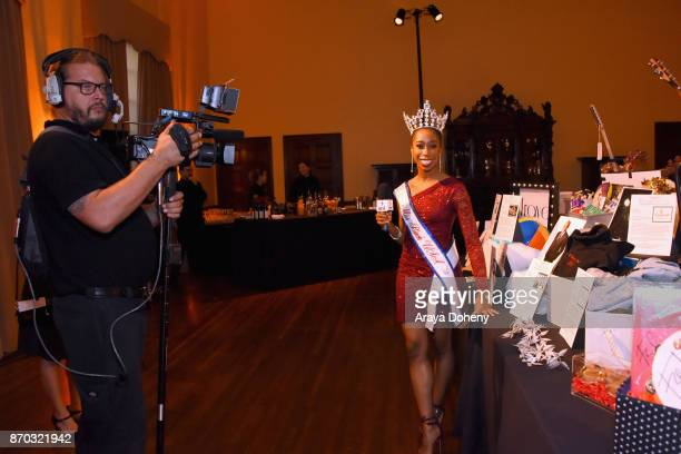 Miss Black USA Daphne Lee at the International Myeloma Foundation 11th Annual Comedy Celebration at The Wilshire Ebell Theatre on November 4 2017 in...