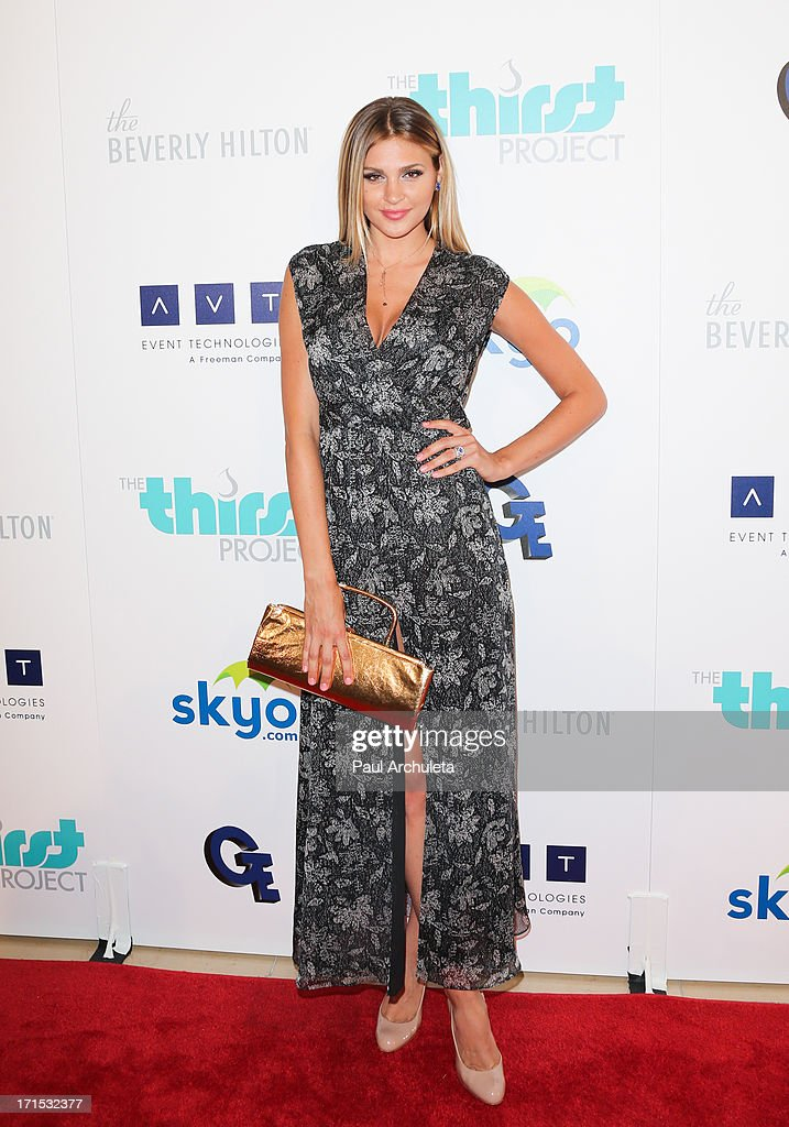 Miss California 2012 Natalie Pack attends the 4th annual Thirst Gala at The Beverly Hilton Hotel on June 25, 2013 in Beverly Hills, California.