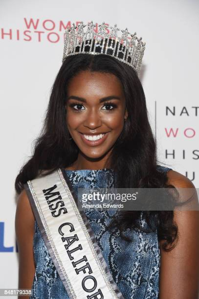 Miss California USA 2017 India Williams arrives at the 6th Annual Women Making History Awards at The Beverly Hilton Hotel on September 16 2017 in...