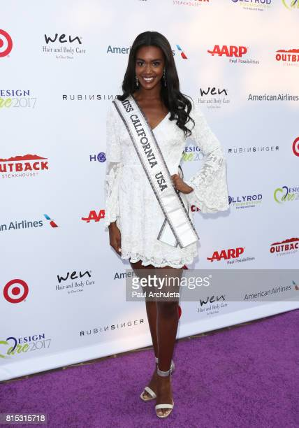Miss California USA India Williams attends the 19th Annual DesignCare 2017 at a private residence on July 15 2017 in Pacific Palisades California