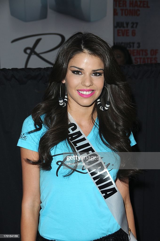 Miss California USA Mabelynn Capeluj appears at the D Las Vegas for a meet and greet and autograph signing on June 7, 2013 in Las Vegas, Nevada.