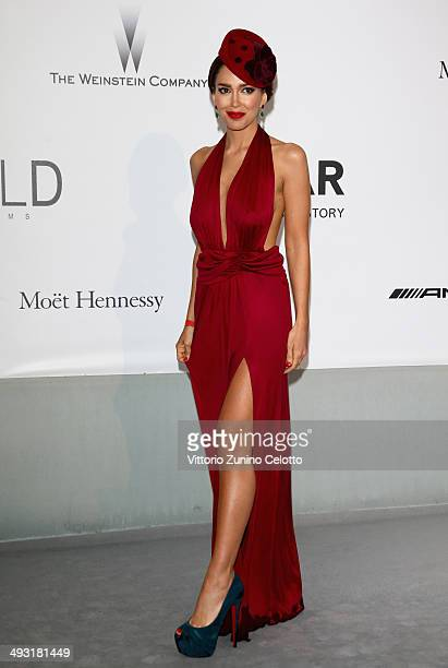 Miss Canada Sahar Biniaz attends amfAR's 21st Cinema Against AIDS Gala Presented By WORLDVIEW BOLD FILMS And BVLGARI at Hotel du CapEdenRoc on May 22...