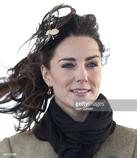Miss Catherine Middleton Accompanied By Prince William Attends The Naming Ceremony And Service Of Dedication Of The Atlantic 85 Lifeboat 'Hereford...