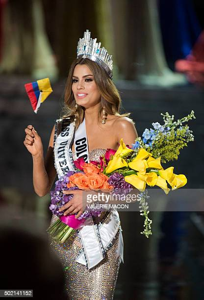 Miss Colombia Ariadna Gutierrez is mistakenly crowned Miss Universe 2015 during the 2015 MISS UNIVERSE show at Planet Hollywood Resort Casino in Las...