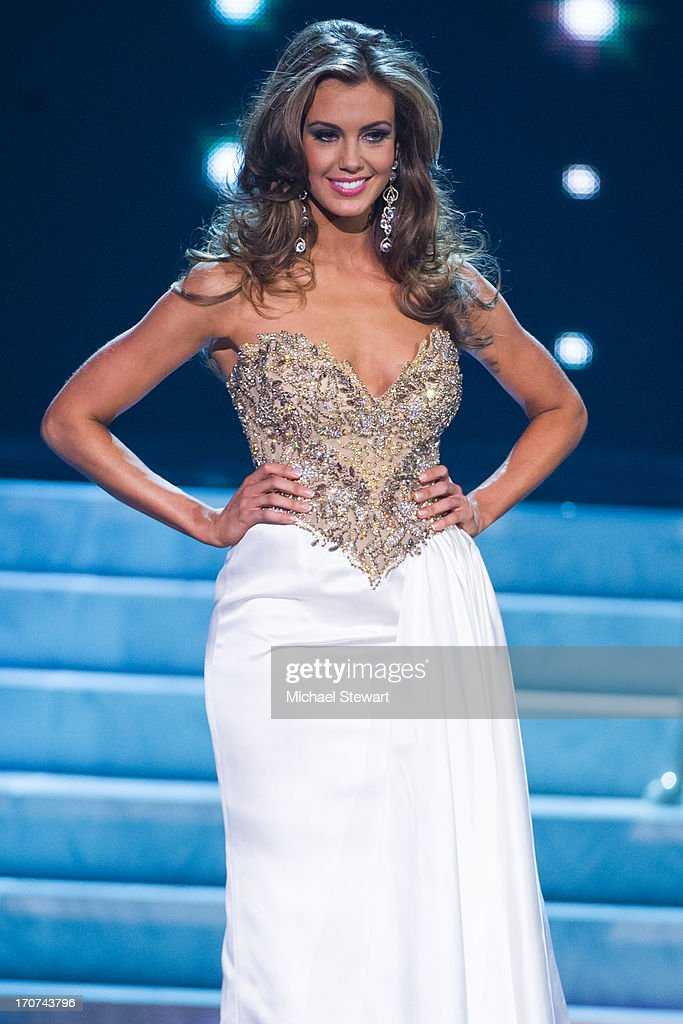 Miss Connecticut USA 2013 Erin Brady competes during the 2013 Miss USA pageant at PH Live at Planet Hollywood Resort & Casino on June 16, 2013 in Las Vegas, Nevada.