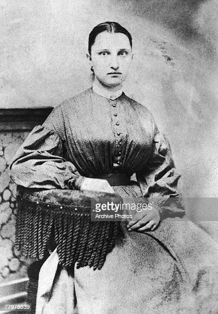 Miss Craig a nurse during the American Civil War circa 1863