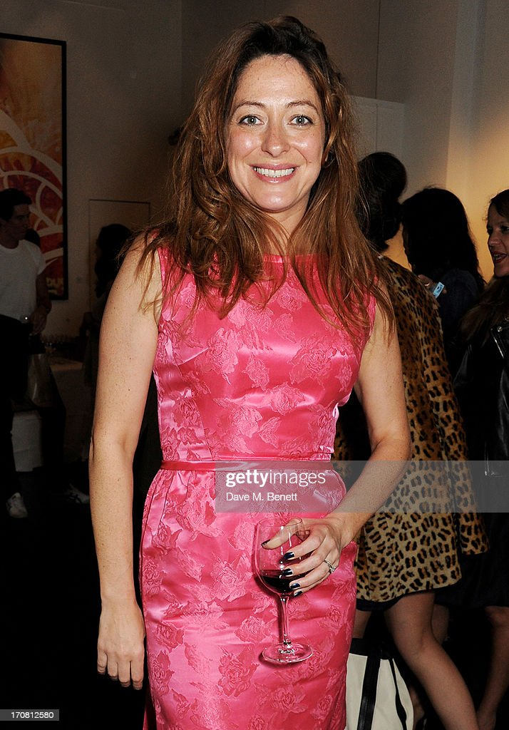 DJ Miss D attends the Diversity In Care charity auction at Opera Gallery on June 18, 2013 in London, England.