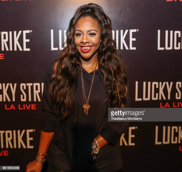 Miss Diddy at Lucky Strike Bowling Alley on September 21 2017 in Hollywood California