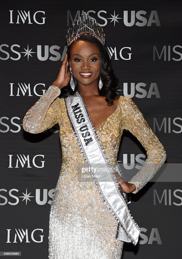 Deshauna Barber - Deshauna Barber (USA 2016) Miss-district-of-columbia-usa-2016-deshauna-barber-poses-for-photos-picture-id538320680