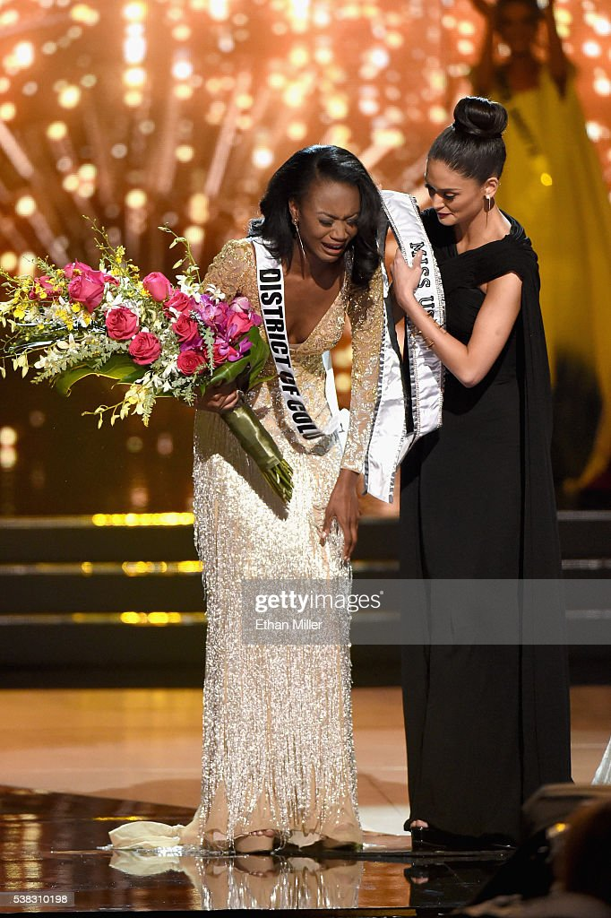 Pia Alonzo Wurtzbach- MISS UNIVERSE 2015- Official Thread - Page 4 Miss-district-of-columbia-usa-2016-deshauna-barber-reacts-as-miss-picture-id538310198