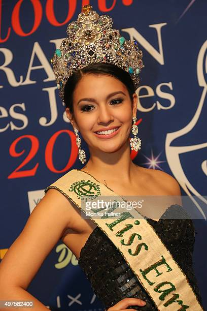 Miss Earth 2014 Jamie Herrell attends the Look Women Of The Year Awards 2015 at the city hall on November 17 2015 in Vienna Austria