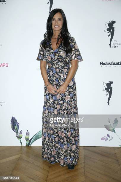 Miss France 1987 Nathalie Marquay attends 'Les Bonnes Fees' Charity Gala at Hotel D'Evreux on March 20 2017 in Paris France