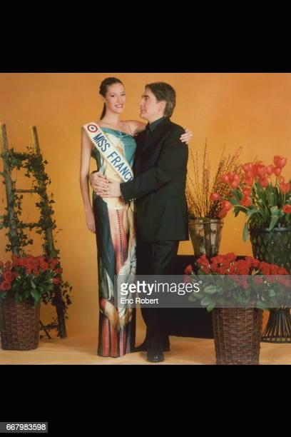 Miss France 1999 and Serge Lama