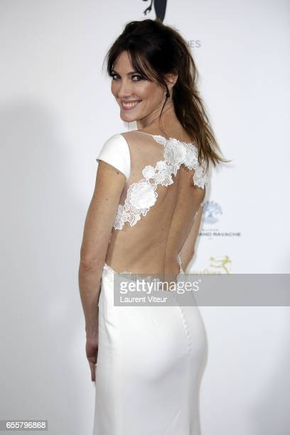 Miss France 1999 Mareva Galanter attends 'Les Bonnes Fees' Charity Gala at Hotel D'Evreux on March 20 2017 in Paris France