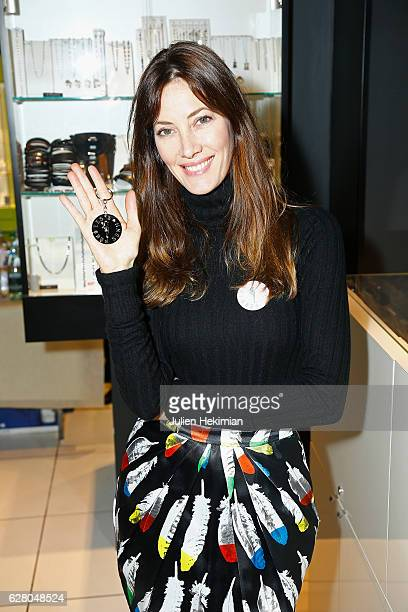 Miss France 1999 Mareva Galanter attends 'Les Bonnes Fees Julien D'Orcell Launch a Key Chain To Benefit ' for Les Bonnes Fees Association In...