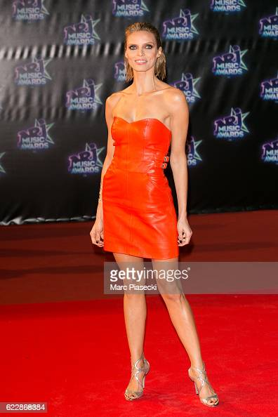 Miss France 2002 Sylvie Tellier attends the 18th NRJ Music Awards at Palais des Festivals on November 12 2016 in Cannes France