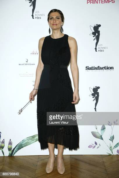Miss France 2004 Laetitia Bleger attends 'Les Bonnes Fees' Charity Gala at Hotel D'Evreux on March 20 2017 in Paris France