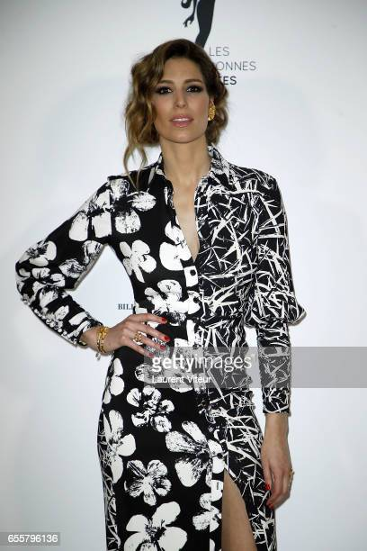 Miss France 2011 Laurie Thilleman attends 'Les Bonnes Fees' Charity Gala at Hotel D'Evreux on March 20 2017 in Paris France